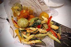 Italian Restaurant Cibus in Geneva - Frittura mista