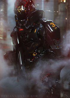 #cyborg #cyberpunk #art #киборг #киберпанк #арт