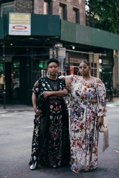 @kellyaugustineb and @elannzelie | Historically, mainstream NYFW street style galleries almost exclusively feature thin women. This season, InStyle wanted to change that and dedicate our entire street style gallery to plus-size women instead.