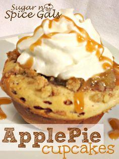 Apple Pie Cupcakes by Sugar n' Spice Gals