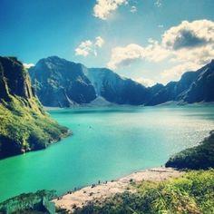 Places: Mt. Pinatubo, Philippines
