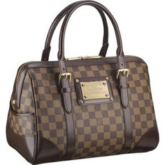 Buy Louis Vuitton Damier Canvas Berkeley Bag from HEWI London.  Pre-authenticated, new   pre-owned luxury fashion from designers including Louis  Vuitton, ... d3e4bdf978