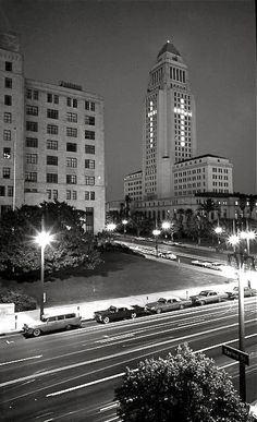On orders from the mayor, three days after John F. Kennedy was assassinated, Los Angeles City Hall marked the president's death by arranging the building's lights in the shape of the cross.