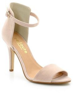 Taillissime High-Heeled Ankle Strap Sandals, 9 cm Heel on shopstyle.co.uk