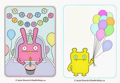 Best Birthdays: Uglydoll Birthday Party (with Free Uglydoll Printables!)