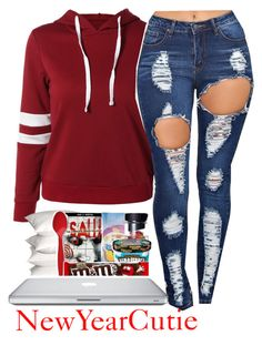 """#NewYearCutie"" by kirajones181 on Polyvore"