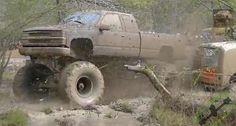Lifted truck. www.CustomTruckPartsInc.com  #mudlife  #mudder #pickup #truckpics #mudtruck Custom Truck Parts Jacked Up Trucks, Lifted Chevy, Chevy Trucks, Country Trucks, Big Country, Custom Truck Parts, Custom Trucks, Muddy Trucks, Dodge Power Wagon