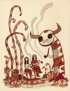 The White Stripes by Scott Campbell