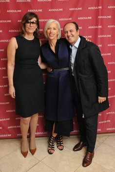 Linda Fargo Photos Photos - Martine Assouline, Linda Fargo and Prosper Assouline attend the A Touch Of Style Book Signing with Carlos Mota at the D John Cusimano, Assouline, Book Signing, Fashion Books, Awards, Touch, Photos, Style, Swag