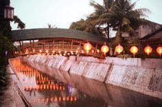 indonesian architects without borders bamboo bridge java designboom