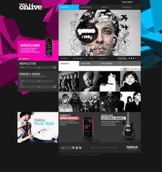 Nokia Onlive (2008) by José Carlos Costa, via Behance