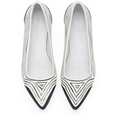 Memorial Day Special Edition Susan Hand Printed and Signed Pointy Flats Leather Handmade Fl