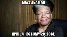 Civil rights activist, author, and poet Maya Angelou has passed at the age of 86. Read more about it now.   http://heymikeyatl.com/2014/05/28/poet-and-civil-rights-activist-maya-angelou-has-passed/ #HeyMikey #heymikeyatl #MayaAngelou #RIPMayaAngelou #CelebrityNews
