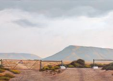 #704_Williston_Gates copy Gates, Landscape Photography, Country Roads, Houses, Paintings, Mountains, Nature, Travel, Art