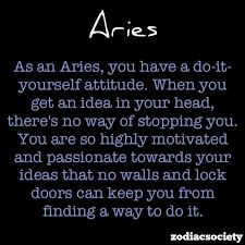 Picture Quotes of Aries