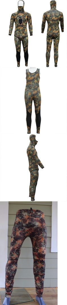 Men 16058: New 3Mm Camo Camouflage Full Body Hooded Wetsuit Scuba Diving Spearfishing Hood -> BUY IT NOW ONLY: $96.52 on eBay!