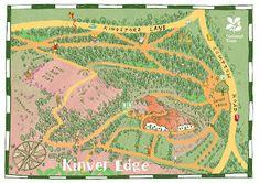 mistermunro: map of Kinver Edge for NT