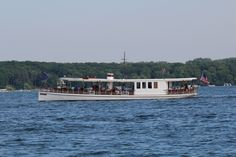 The Lake Geneva Cruise Line Polaris!