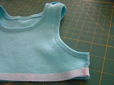 new step to adding skirt to T Shirt material..This is one of the best I have seen, makes it easier!!