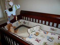 Kids Line My First ABC 6 Piece Crib Bedding Set