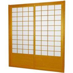 Tall Zen Shoji Sliding Door Kit (Double-Sided) at Lowe's. This fantastic Zen Shoji Sliding Door Kit (Double-Sided) comes with sliding doors, top and bottom tracks, and right and left door jambs. Sliding Door Room Dividers, Fabric Room Dividers, Wooden Room Dividers, Hanging Room Dividers, Folding Room Dividers, Sliding Door Hardware, Sliding Doors, Barn Doors, Door Hinges