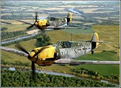 BF109's.