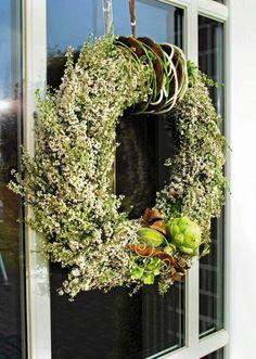 Zdjęcie nr 4 w galerii - Jesienne wianki. Powieś je na drzwiach, w oknie, połóż…