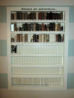 display case #display (DIY display case) Tags: display collection, display collection diy, display collection room walls