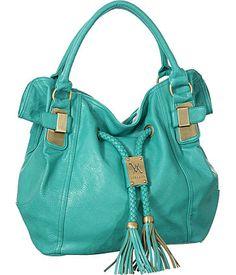 "Purse Boutique: Turquoise Large Vitalio Vera ""Savitha"" Hobo Handbags, Purses"