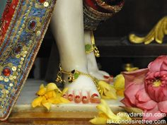 Sri Nitai Feet Wallpaper (001)