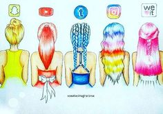 Hairs of the Social Media!  pinterest: @rosajoevannoy
