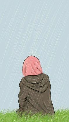 Gambar Kartun Wanita Muslimah Dari Belakang Terbaru 100 Gambar Kartun Muslimah Terbaik Di 2020 Kartun Seni Islamis Ilustrasi Karakter
