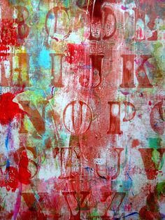 Gelli Art  I finally got My Gelli Art printing plate!!!! And had some fun with it!!!!!I have to say it is amazing tool to make unique color backgrounds for art journals, tags, paintings and many more!!!!