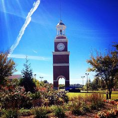 Beautiful fall day at Union University in Jackson, TN. Photo by Sarah Methvin