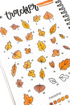 30 Best bullet journal mood tracker ideas for September! - 30 Best September Mood Tracker Ideas For Bullet Journals - Crazy Laura Bullet Journal School, Autumn Bullet Journal, Bullet Journal Mood Tracker Ideas, Bullet Journal Aesthetic, Bullet Journal Notebook, Bullet Journal Ideas Pages, Bullet Journal Spread, Art Journal Pages, Journal Prompts