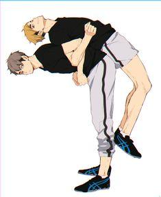 宮兄弟 Manga Haikyuu, Haikyuu Funny, Haikyuu Fanart, Manga Anime, Fanarts Anime, Anime Characters, Hinata, Miya Atsumu, Haikyuu Wallpaper