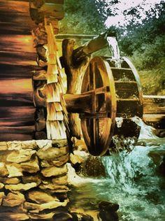 mlyn wodny w malarstwie - Szukaj w Google