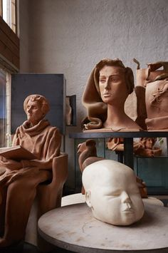 Hertha Hillfons hem Ceramics, Statue, Clay, Artists, Sculpture, Auction, Ceramica, Clays, Pottery