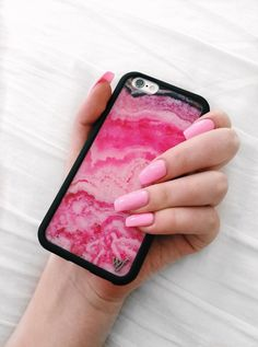 VERY LIMITED QUANTITIES!!! SOoo much love for this one... introducing our new, Pink Stone iPhone 6/6s case! Available in iPhone 6/6s and iPhone 6 Plus/6s Plus (coming soon) One-of-a-kind, limited edit