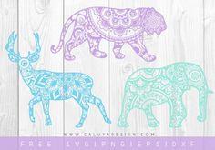 Free Mandala Animal SVG