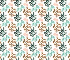 Rose forest love small by pattern_house #pattern #design #love #flowers #floral #nature #surfacedesign #textiledesign #patterndesign