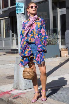 2017春夏ファッションストリートスナップ