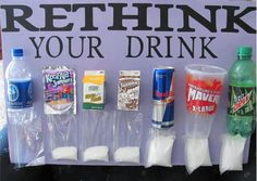 This picture puts things into perspective doesn't it? That is so much sugar. Research in the US had shown that one soft drink or sweet juice each day AT ANY AGE was associated with an 80% increase in the risk of acquiring diabetes in females. What ever happened to having water when you are thirsty? Why are people drinking these products so often? Share this, lets get the reality out there.