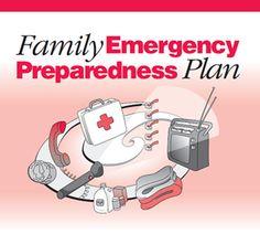 Survival Basics: 10 Steps for Preparing a Family Emergency Plan