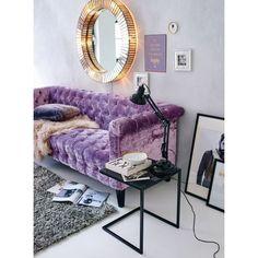 Beleuchteter Spiegel, Vintage Look, Glas, Metall Vorderansicht