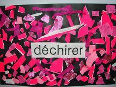 la classe de mademoiselle violette: Déchirer