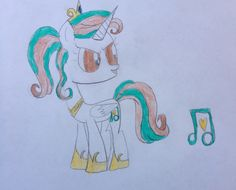 Love Song is a wonderful singer who loves every pony, but if you get on her bad side she mite brake.. 100 bits to adopt.