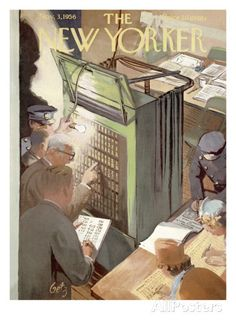 The New Yorker Cover - November 3, 1956