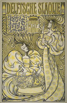 Yes, the official Salad Oil Poster, Jan Toorop, 1894