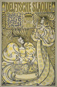 Delftsche Slaolie, Jan Toorop, 1894